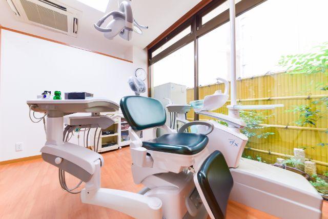 完全個室・半個室の診療室